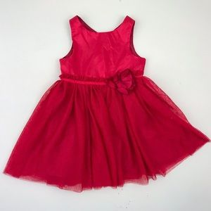 H&M Red Sparkly Tulle Dress